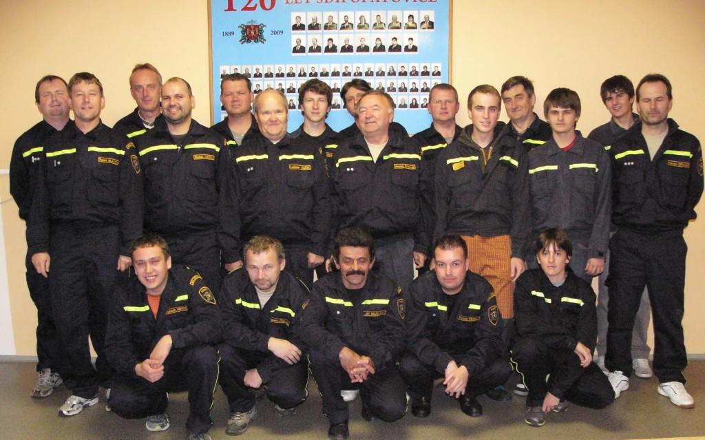 Školení jednotky Opatovice